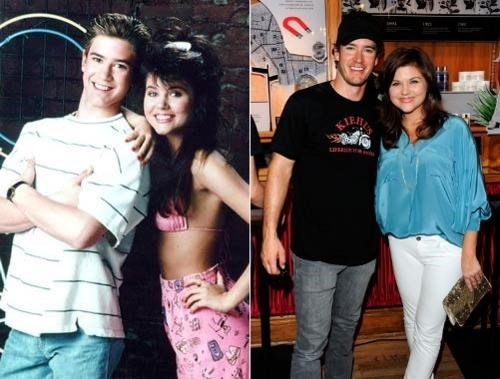 saved by the bell,Then And Now,Zack And Kelly