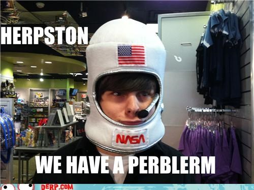 costume derp hat huston nasa
