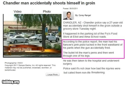 accident failboat g rated gun Probably bad News shooting - 5062630656