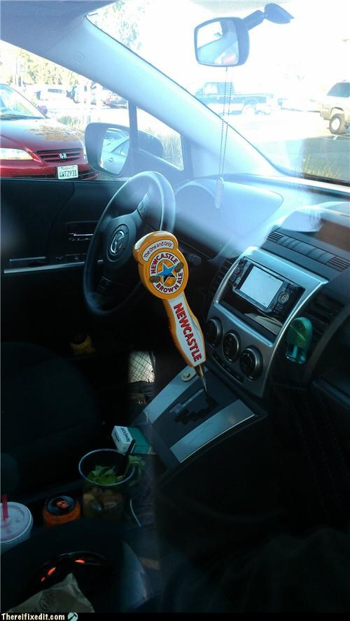 beer,dual use,gear shift,transmission
