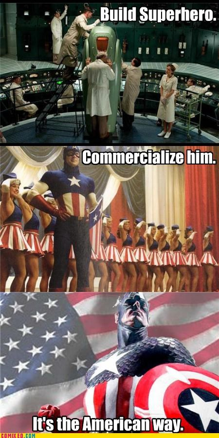 america capitalism captain america commercialize From the Movies - 5062732544