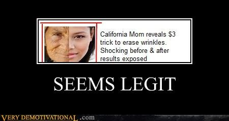 Ad,hilarious,seems legit,wrinkles
