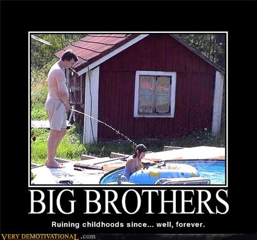 big brothers childhood hilarious kid pee wtf - 5062837248