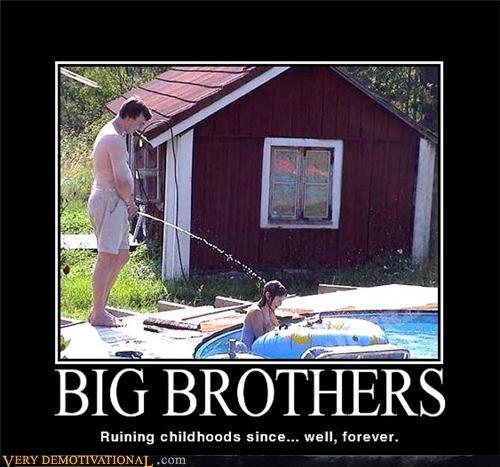 big brothers childhood hilarious kid pee wtf - 5062837248