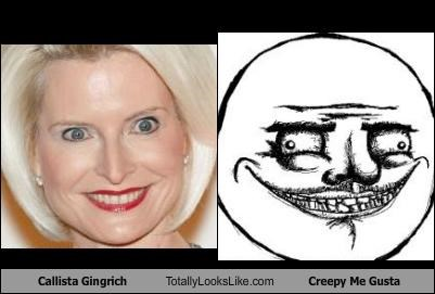 callista gingrich Hall of Fame me gusta meme TLL - 5062863360