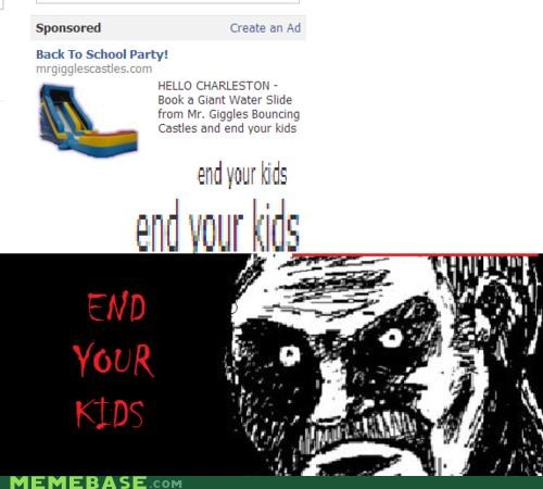 bouncing,castles,end,kids,Party,Rage Comics