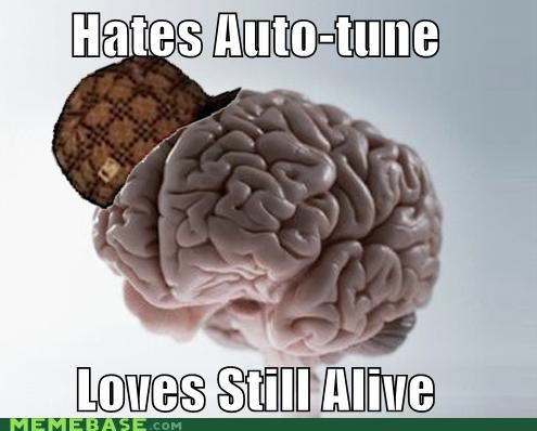 auto tune,Music,Portal,scumbag brain,still alive,video games