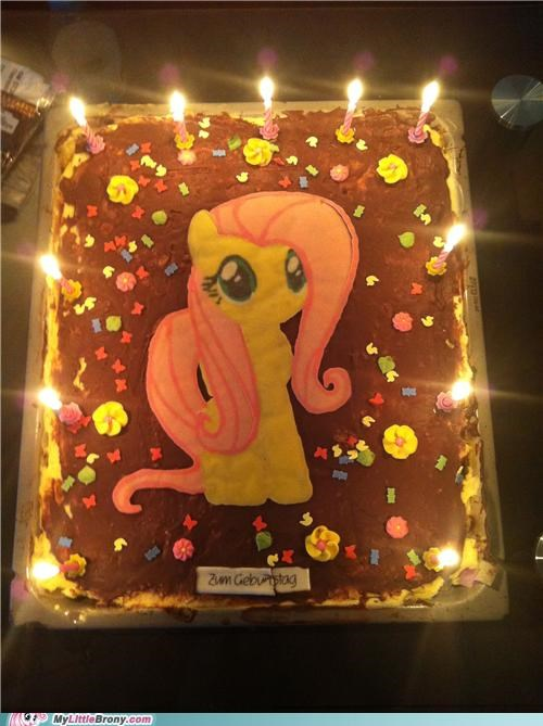 birthday cake candle fluttershy IRL - 5063725312