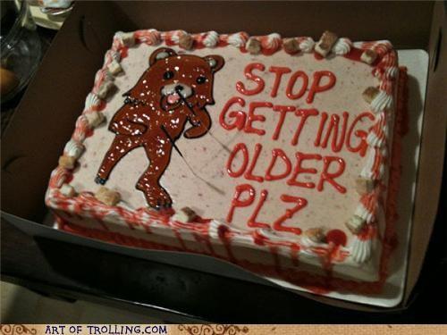 aging cake creepy IRL older pedobear - 5064068096