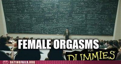 female orgasms,for dummies,orgasm,We Are Dating