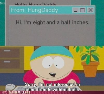 midgets penis size size South Park We Are Dating - 5064241408