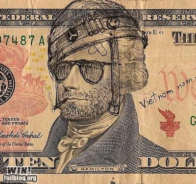 bill dollar dollar bill full metal jacket hacked irl money Vietnam washington - 5064265728
