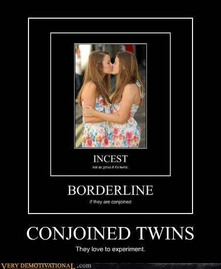 conjoined,experiment,hilarious,incest,twins