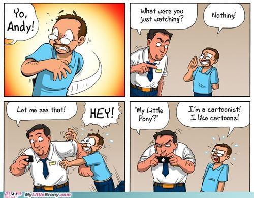 comic dude iphone IRL watch - 5064405248