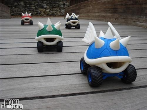 Mario Kart mod nerdgasm RC car Video video game - 5064435200