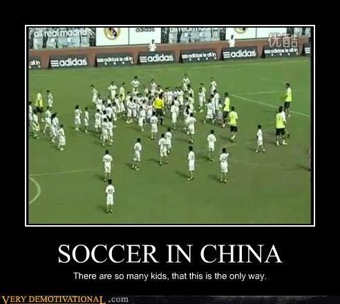 China hilarious kids lots soccer - 5064435712