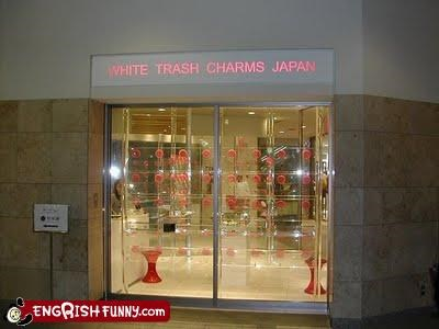 hick,Japan,store,storefront,white trash