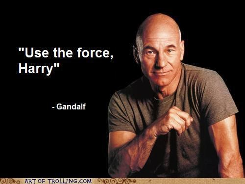 Harry Potter Lord of the Rings misquotes Star Trek star wars - 5064694272