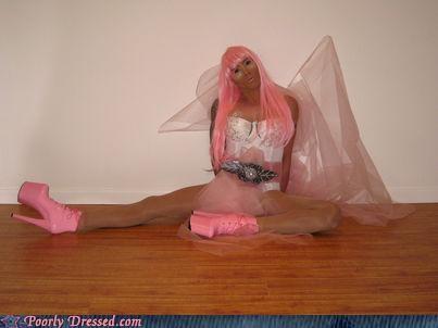 heels nicki minaj pink - 5064706560