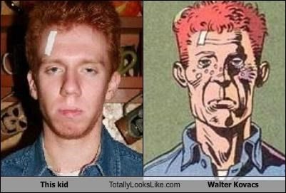 comics ginger kid red hair redhead rorschach the watchmen Walter Kovacs