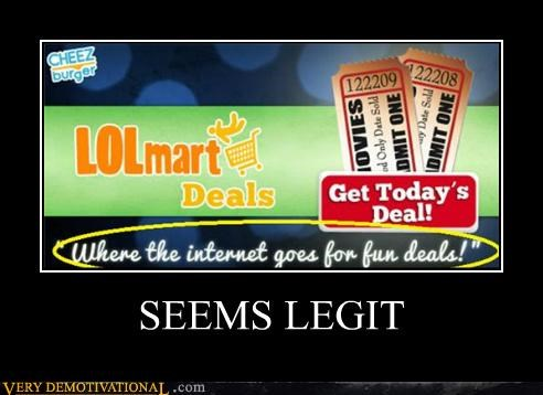 hilarious lolmart seems legit - 5064887552