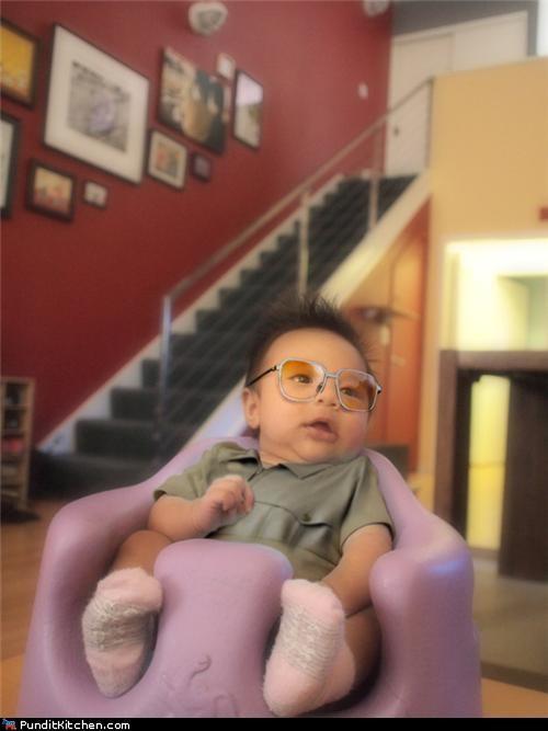Babies baby dictators Kim Jong-Il North Korea political pictures - 5064948992
