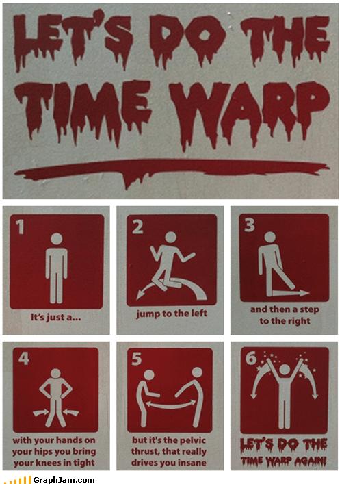 dance rhps rock horror time warp - 5065148928