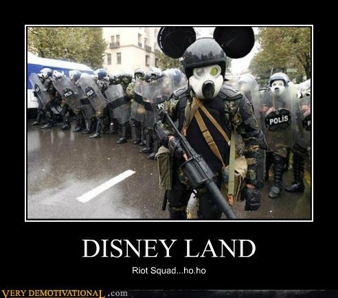 disney land hilarious mickey mouse riot squad - 5065159168