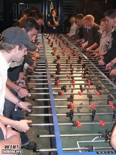 bar sports foosball games miniature team - 5065191936