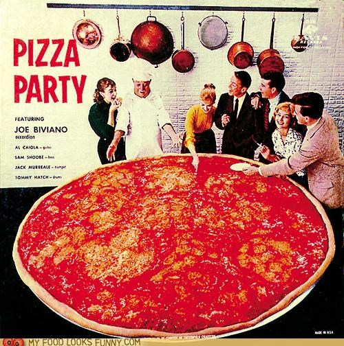 abum art cover Party pizza - 5065229824