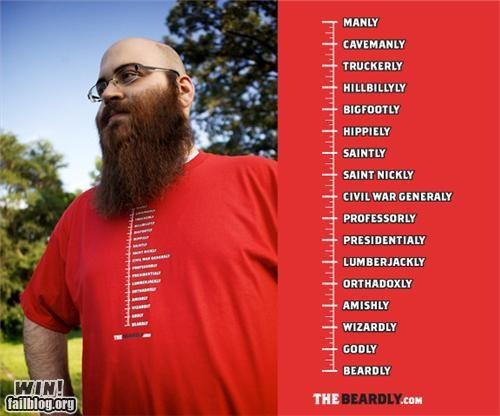 beard fashion handy metric shirt - 5065233152