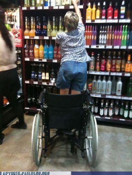 hallelujah healing liquor store wheelchair - 5065555712