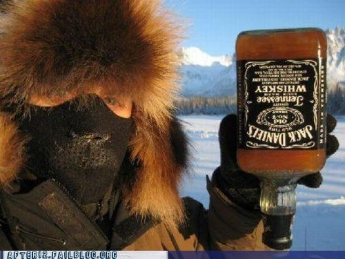 alaska,frozen,jack daniels,parka,Winter Wonderland