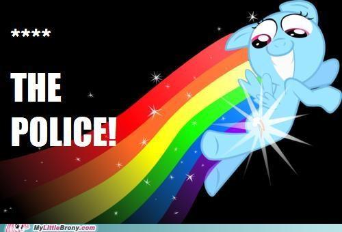 f the police fast fly rainbow dash - 5065778688