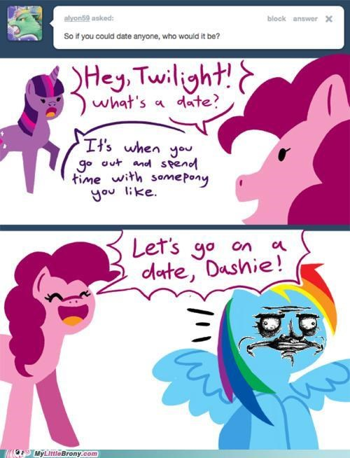 date pinkie pie rainbow dash relationship - 5065885952