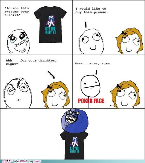 clothing,i lied,Rage Comics,fathers day,Bronies