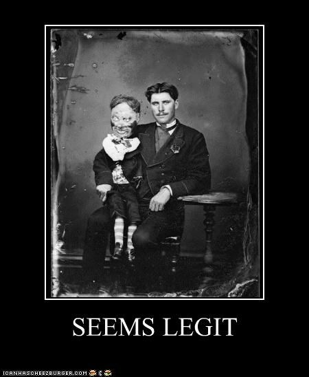 creepy dummies historic lols Memes puppets scary seems legit wtf - 5066079232