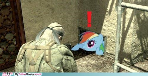 rainbow dash shoot video game war - 5066094080