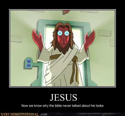 hilarious jesus looks Zoidberg - 5067355648