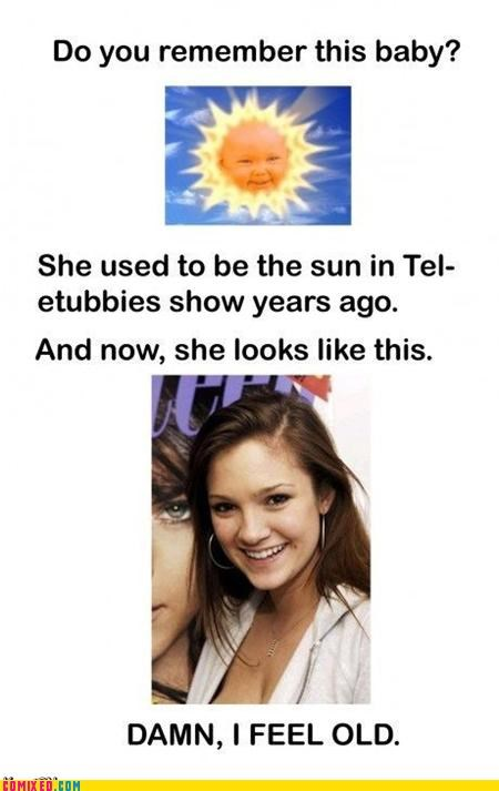 jessica smith sun baby teletubbies TV - 5067399424