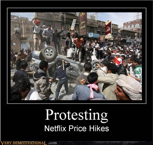hilarious netflix price changes riot