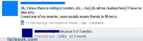 london riots news witty reply - 5068180736