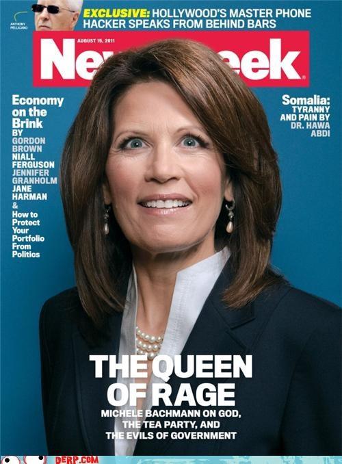Celebriderp,Congress,Michele Bachmann,Newsweek,politics,president