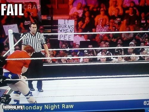 failboat g rated signs sports wrestling wtf - 5068601088