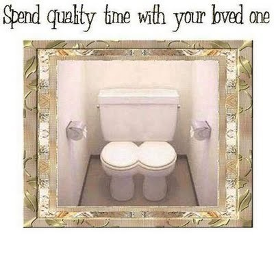 bathroom quality time toilet We Are Dating - 5068602112