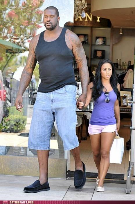 celeb,height,hoopz,nikki alexander,Shaq,shaquille-oneal,tall,We Are Dating