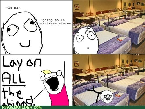 all the guy all the things bed mattress me gusta Rage Comics - 5068779776