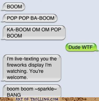 fireworks,live text,wtf