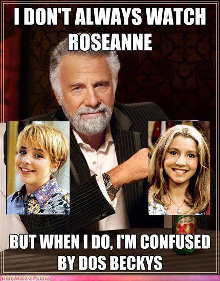funny,meme,roseanne,TV