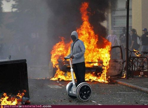 hating looting rolling segway wtf - 5068827136